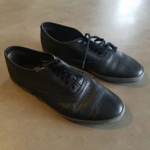 Comme des Garcons leather sneakers